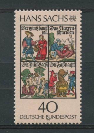 1976 - LOTTO/18970 - GERMANIA FEDERALE - HANS  SACHS - NUOVO
