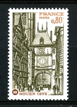 1976 - FRANCIA - CONGRESSO SOCIETA' FILATELICHE - NUOVO - LOTTO/30087