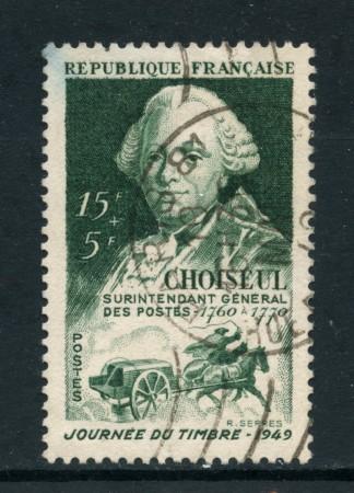 1949 - FRANCIA - GIORNATA FRANCOBOLLO - USATO - LOTTO/28499