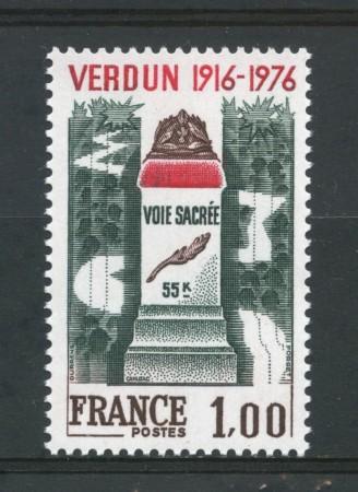 1976 - FRANCIA - BATTAGLIA DI VERDUN - NUOVO - LOTTO/30091