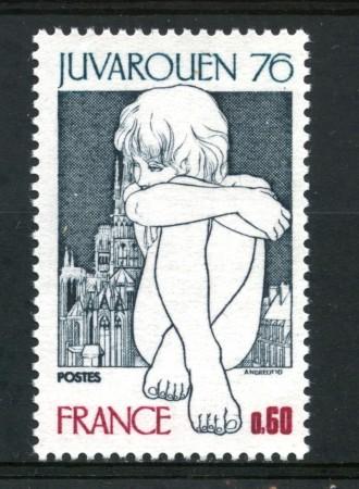 1976 - FRANCIA - ESPOSIZIONE JUVAROUEN - NUOVO - LOTTO/30088