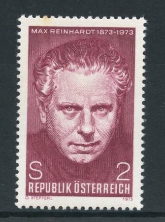 1973 - AUSTRIA - MAX REINHARDT - NUOVO - LOTTO/27989