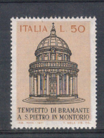 1971 - LOTTO/6541 - REPUBBLICA - TEMPIETTO BRAMANTE