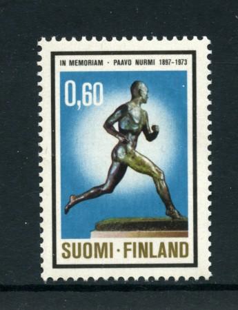 1973 - LOTTO/24210 - FINLANDIA - P.NURMI CAMPIONE OLIMPICO - NUOVO