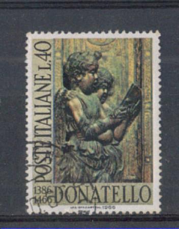 1966 - LOTTO/6455U - REPUBBLICA - DONATELLO USATO