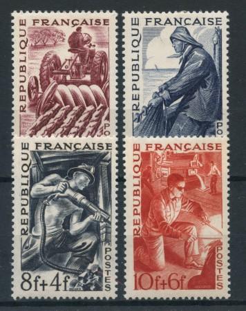 1949 - FRANCIA - MESTIERI 4v. - LING. - LOTTO/28497