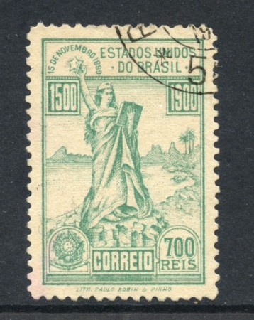 1900 - BRASILE - 700r. 4° CENTENARIO BRASILE - USATO - LOTTO/28832