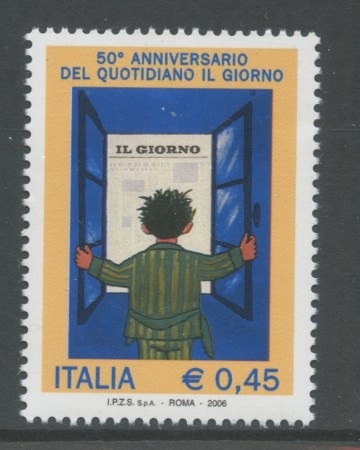 2006 - REPUBBLICA - QUOTIDIANO IL GIORNO - NUOVO