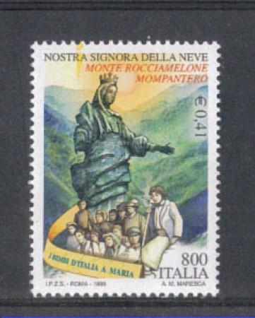 1999 - LOTTO/7237 - REPUBBLICA - MADONNA DELLA NEVE