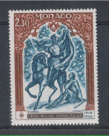 1968 - LOTTO/8452 - MONACO - CROCE ROSSA MONEGASCA