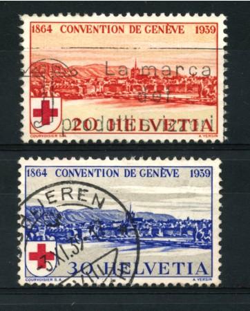 1939 - LOTTO/15271 - CROCE ROSSA 2v. - USATI
