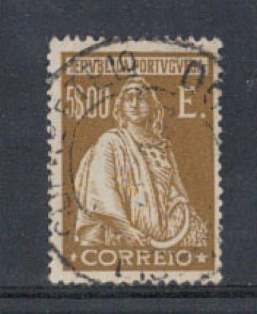 1926 - LOTTO/9679ZBU - PORTOGALLO - 5 e. BISTRO - USATO