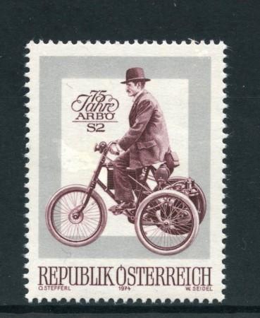 1974 - AUSTRIA - ARBO AUTO AMATORI - NUOVO - LOTTO/28008