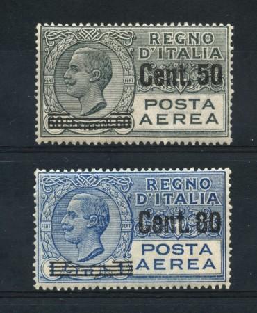1927 - REGNO - POSTA AEREA 2v. - NUOVI - LOTTO/30207