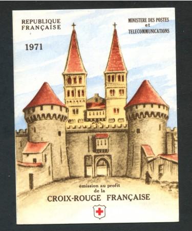 1971 - FRANCIA - CROCE ROSSA - LIBRETTO NUOVO - LOTTO/30635