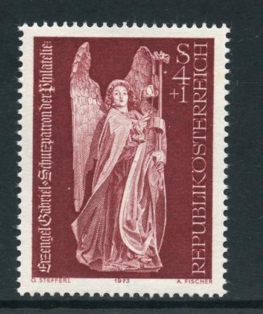 1973 - AUSTRIA - GIORNATA DEL FRANCOBOLLO - NUOVO - LOTTO/27996