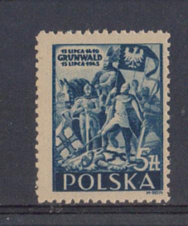 1945 - LOTTO/4018L - POLONIA - BATTAGLIA DI GRUNWALD