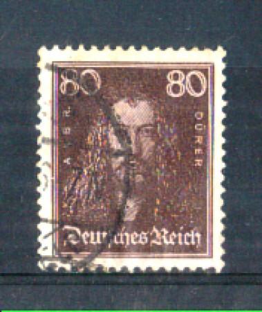 1926 - LOTTO/REG389U1 - GERMANIA REICH - 80p. DURER - USATO