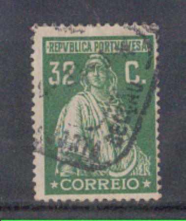 1926 - LOTTO/9679LU - PORTOGALLO - 32c. VERDE - USATO
