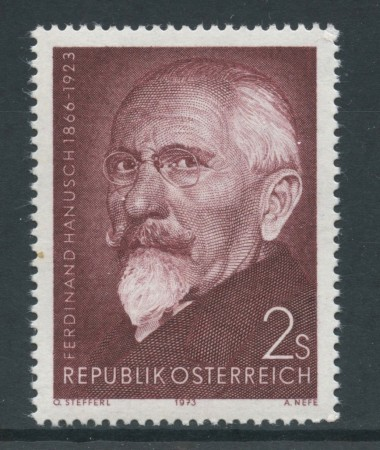1973 - AUSTRIA - F. HANUSCH - NUOVO - LOTTO/27990