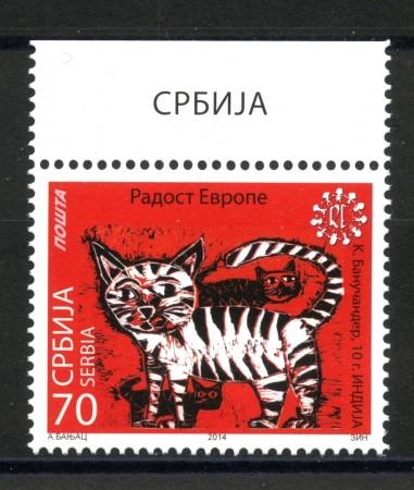 2014 - SERBIA REPUBBLICA - RADOST EVROPE - NUOVO - LOTTO/35249