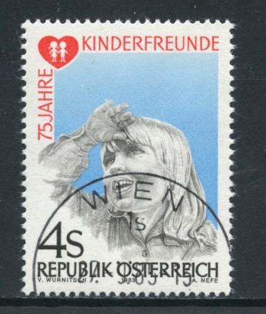 1983 - AUSTRIA - AMICI DEI BAMBINI - USATO - LOTTO/28288
