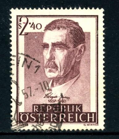 1957 - AUSTRIA - VON JAUREGG - USATO - LOTTO/27919
