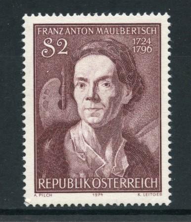 1974 - AUSTRIA - F.A.MAULBERTSCH - NUOVO - LOTTO/28011