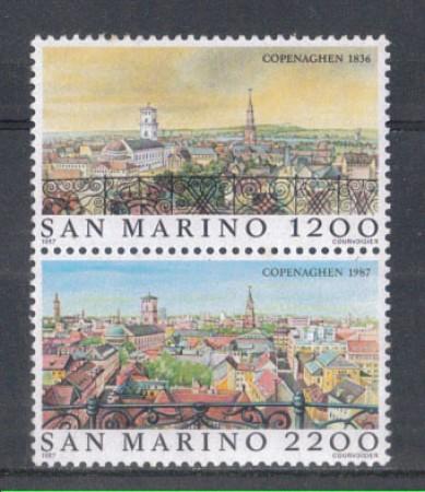 1987 - LOTTO/8081 - SAN MARINO - HAFNIA 87 - NUOVI
