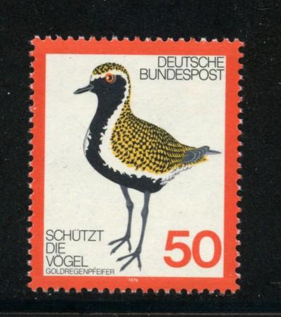 1976 - LOTTO/18980 - GERMANIA FEDERALE - PROTEZIONE UCCELLI - NUOVO