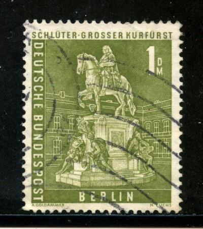 1956/63 - BERLINO - 1Dm. STATUA GRANDE ELETTORE - USATO - LOTTO/29232
