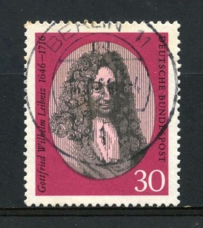 1966 - GERMANIA FEDERALE - VON LEIBNIZ - USATO -  LOTTO/30927U