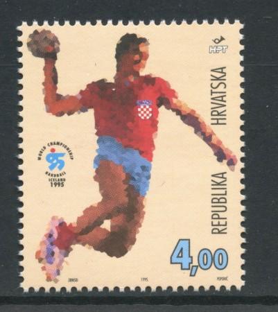 1995 - CROAZIA - CAMPIONATI DI PALLAVOLO - NUOVO - LOTTO/32647