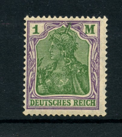 1920 - LOTTO/17736 - GERMANIA - 1M. VIOLETTO E VERDE - NUOVO