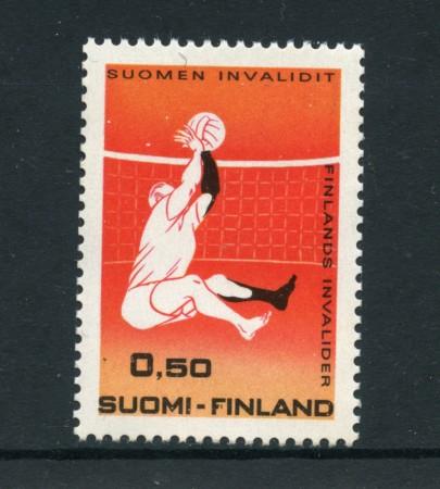 1970 - LOTTO/24199 - FINLANDIA - SPORT INVALIDI - NUOVO