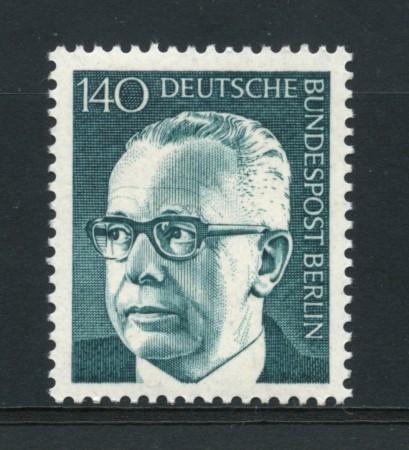 1970 - LOTTO/15542 - BERLINO - 1.40p.  PRESIDENTE HEINEMANN - NUOVO