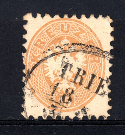 1863/64 - LOTTO/14135 - AUSTRIA - 15 Kr. BISTRO - USATO