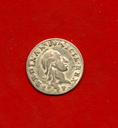 1798 - REGNO DI NAPOLI - FERDINANDO IV° DI BORBONE - CARLINO DA 10 GRANA ARGENTO - LOTTO/M30499