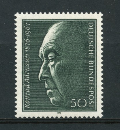 1976 - LOTTO/18969 - GERMANIA FEDERALE - KONRAD ADENAUER - NUOVO