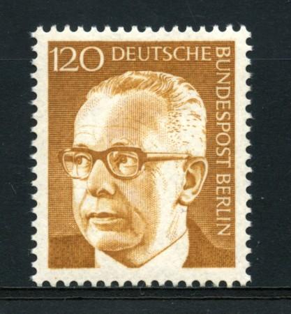 1970 - LOTTO/15541 - BERLINO - 1,20p. PRESIDENTE HEINEMANN  - NUOVO