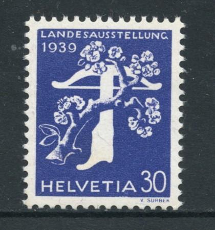 1939 - LOTTO/17503 - SVIZZERA - 30c. ESPOS. NAZIONALE  TEDESCO - NUOVO