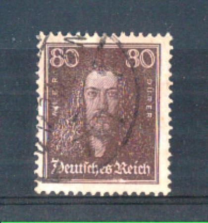 1926 - LOTTO/GER389U - GERMANIA REICH - 80p. A.DURER - USATO
