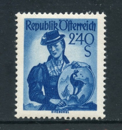 1958 - AUSTRIA - 2,40 COSTUMI KITZBUHEL - NUOVO - LOTTO/27921