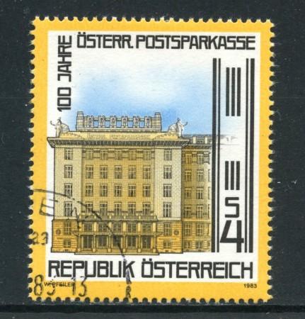 1983 - AUSTRIA - CASSA DI RISPARMIO - USATO - LOTTO/28285