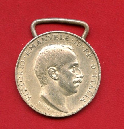 1911/12 - ITALIA - MEDAGLIA COMMEMORATIVA GUERRA ITALO TURCA - LOTTO/M31625