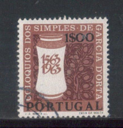 1964 - LOTTO/9795AU - PORTOGALLO - 50c. GARCIA D'ORTA - USATO
