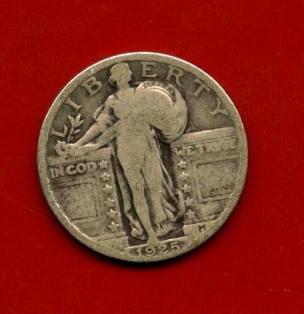 1925 - STATI UNITI - 1/4 DI DOLLARO ARGENTO - LOTTO/M31689