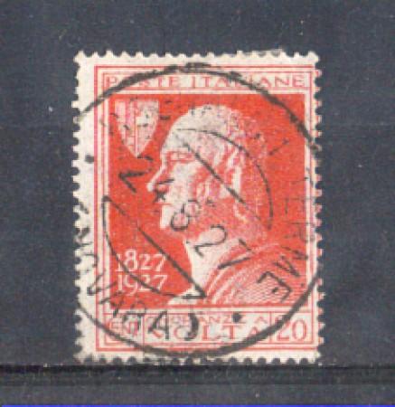 1927 - LOTTO/REG210N - REGNO - 20c. A. VOLTA - USATO