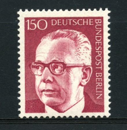 1970 - LOTTO/15543 - berlino - 1,50p. PRESIDENTE HEINEMANN - NUOVO