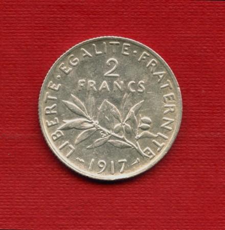 1917 - LOTTO/M23768 - FRANCIA - 1 FRANCO ARGENTO SEMINATRICE